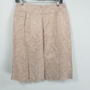Banana Republic Skirts - Banana republic pleated skirt size 6 geometric tan